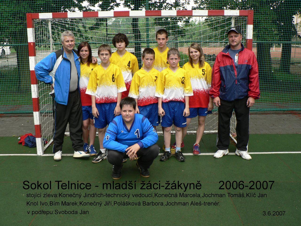 mladší žáci 2006/7